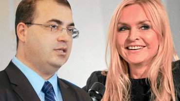 Andrzej Jaworski i Monika Olejnik