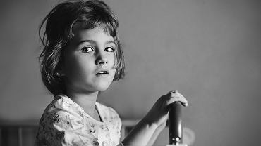 Diana z Domu Dziecka w Jaszkotlu.