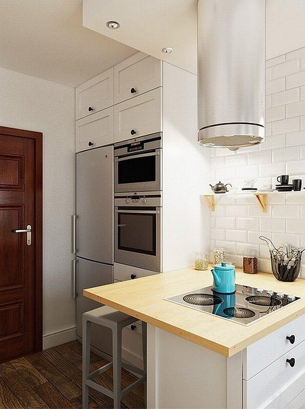 Mala Kuchnia W Bloku Pelna Dobrych Rozwiazan 12 Inspirujacych Wnetrz