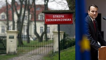 Minister Radosław Sikorski chce, aby administracyjnie wydzielić jego dwór ze wsi Chobielin