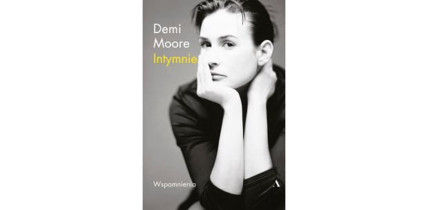 Książka Demi Moore 'Intymnie' (fot. Materiały prasowe)