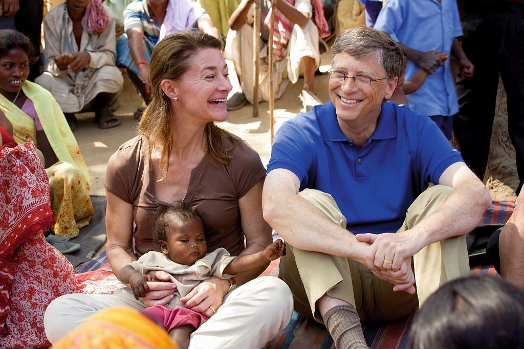 Melinda i Bill Gates