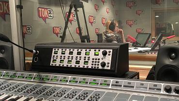 Widok z reżyserski TOK FM