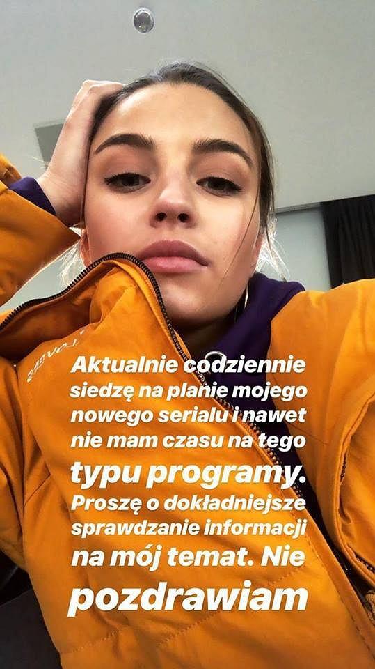 Post z Instagrama Julii Wieniawy