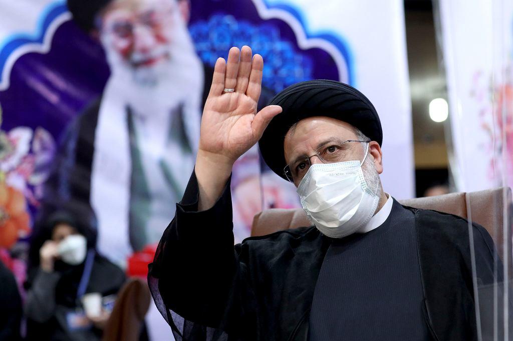 Iran. Nowy prezydent Ebrahim Raisi.