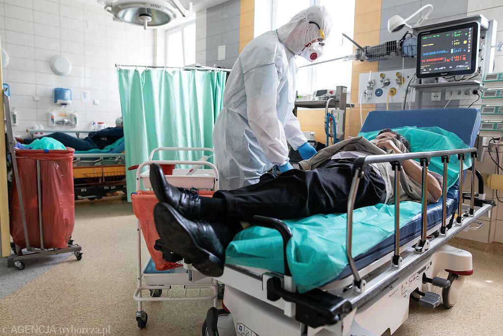 Pandemia koronawirusa. Samodzielny Publiczny Szpital Kliniczny Numer 4. Lublin, 1 czerwca 2020
