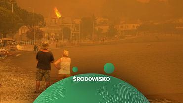 Pożary pustoszą Grecję