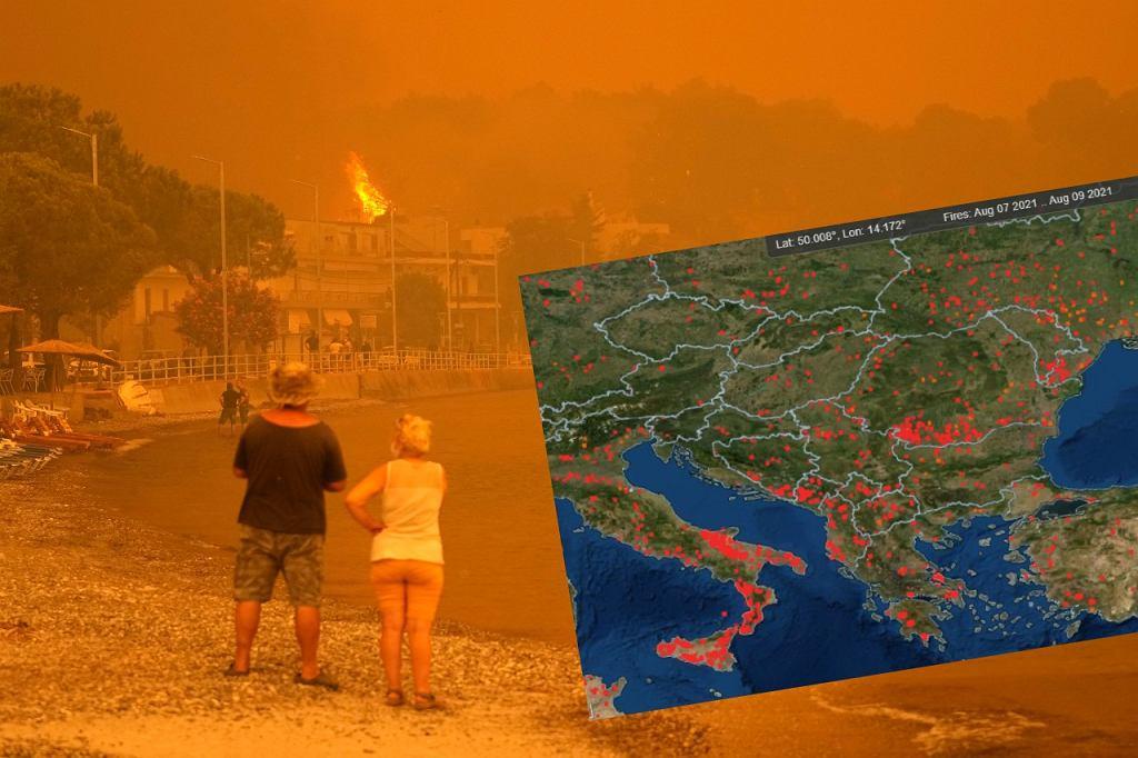 Tegoroczny sezon pożarów może być rekordowy.