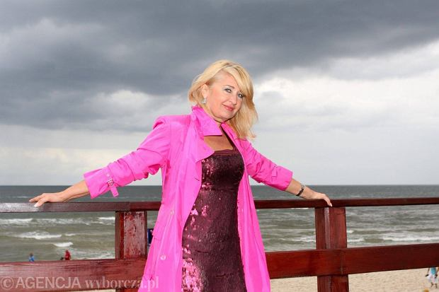 Majka Jeżowska na Festiwalu Gwiazd w Międzyzdrojach w 2013 roku (fot. Artur Kubasik / Agencja Gazeta)