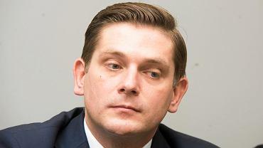 Poseł PiS Bartosz Kownacki