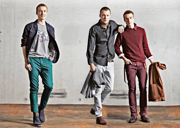 Moda męska: trendy na jesień