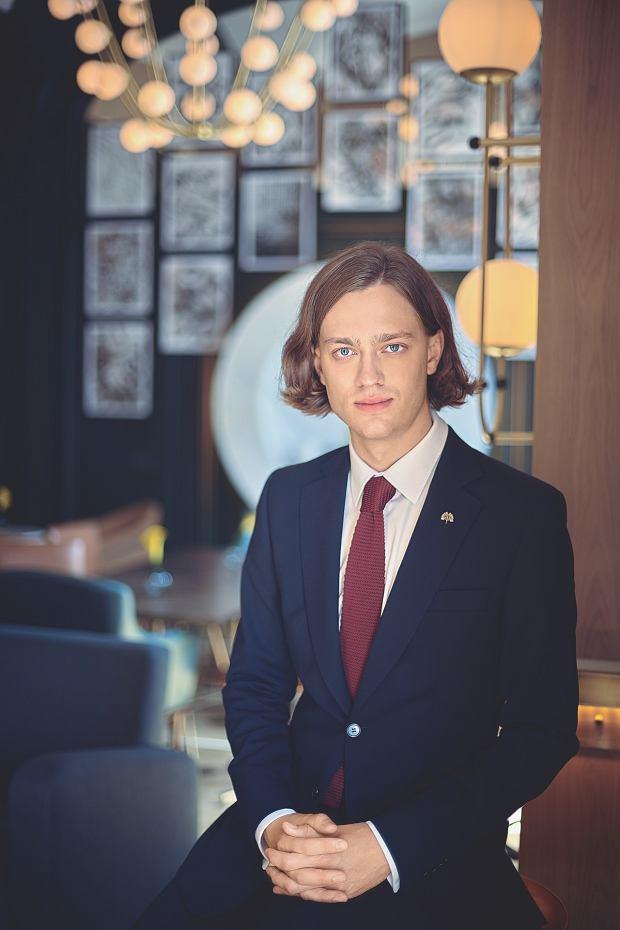 Igor Bloch - art concierge Hotelu Europejskiego