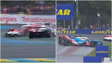 Zamieszanie po starcie Le Mans 24h