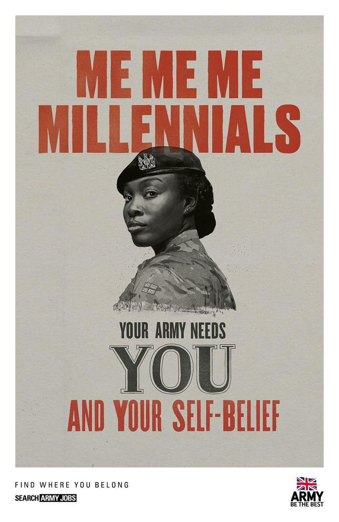 Egoistyczni millenialsi? Brytyjskie wojsko potrzebuje ich pewności siebie
