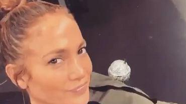 Jennifer Lopez ćwiczy na siłowni