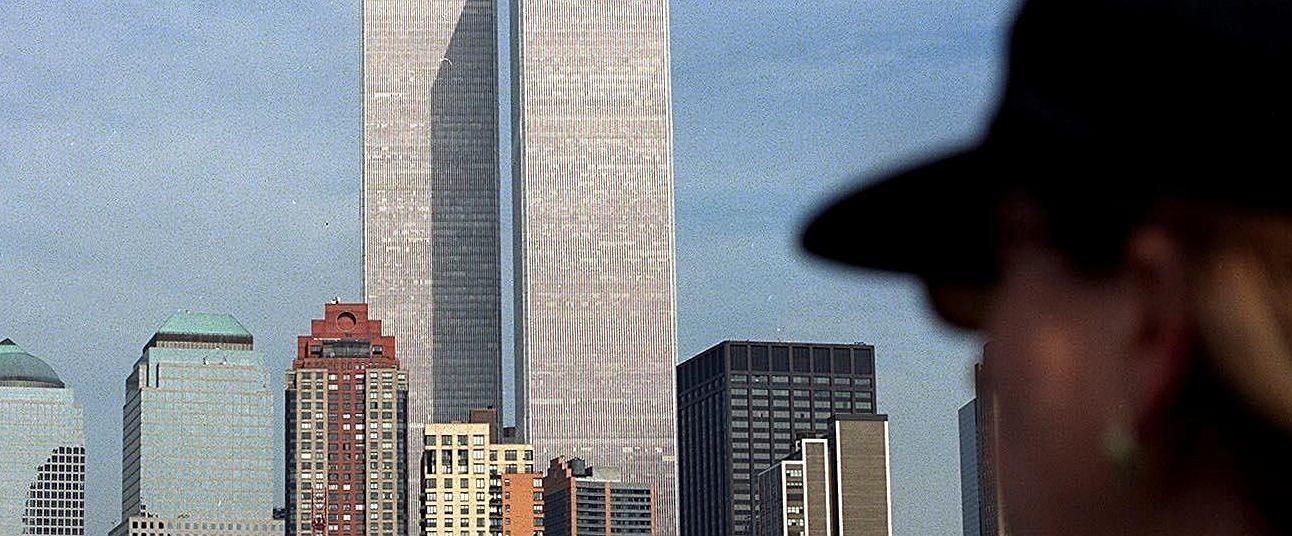 Widok na wieże World Trade Center w 1998 roku (Fot. Maciej Zienkiewicz / Agencja Gazeta)