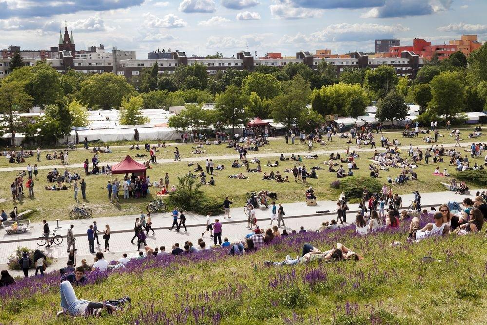 Słynny berliński Mauer Park / fot. Shutterstock