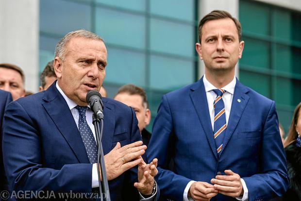 Grzegorz Schetyna z PO i Władysław Kosiniak-Kamysz z PSL.