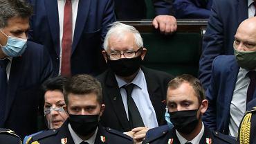 Jarosław Kaczyński. Awantura w Sejmie