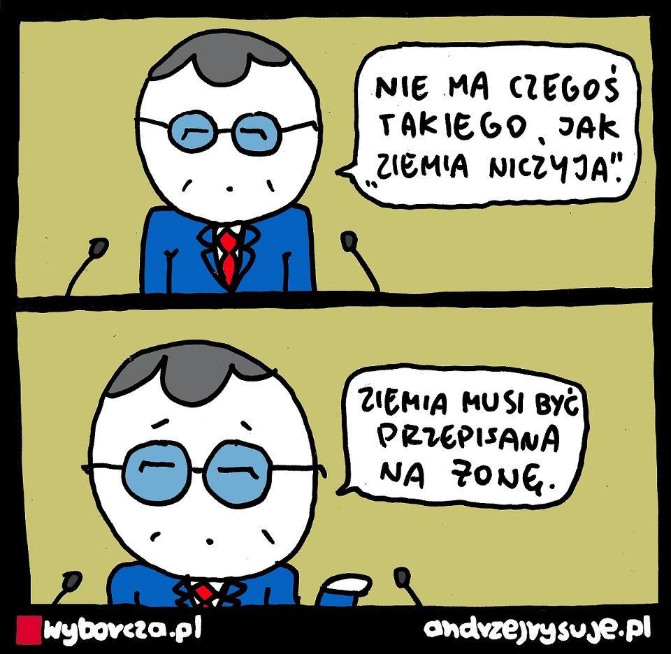 Andrzej Rysuje | ZIEMIA NICZYJA - Andrzej Rysuje | 29.08.2021 - null