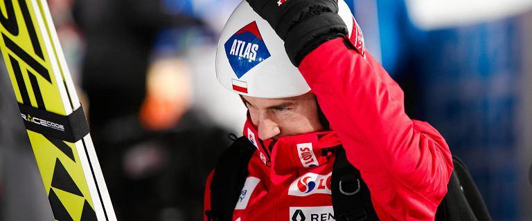 Skoki narciarskie. Kamil Stoch przybity po konkursie. Wytłumaczył swój fatalny skok