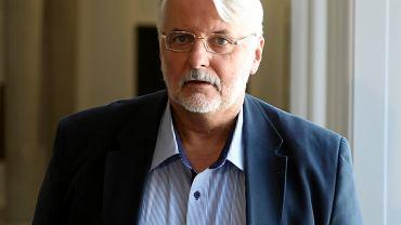 Były minister spraw zagranicznych Witold Waszczykowski