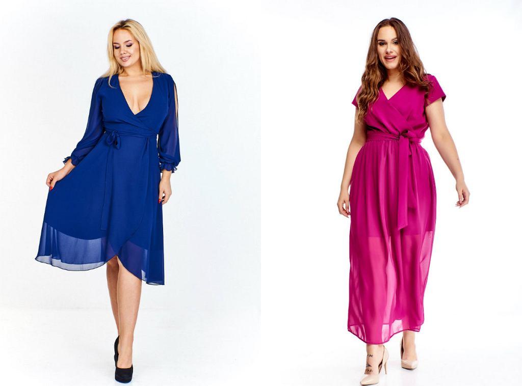 Ekskluzywne sukienki na Sylwestra plus size