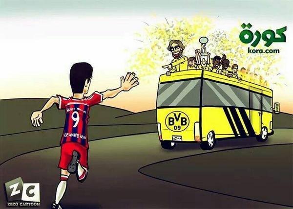 Robert Lewandowski tęskni za Dortmundem?