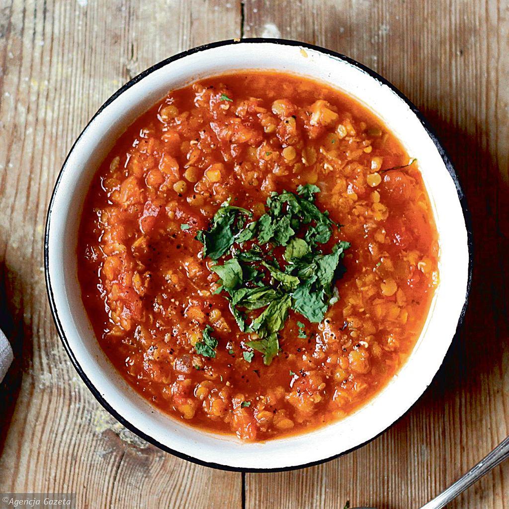 Dahl paprykowo-pomidorowy