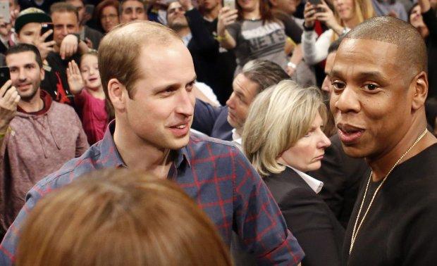 Książę William, Jay-Z