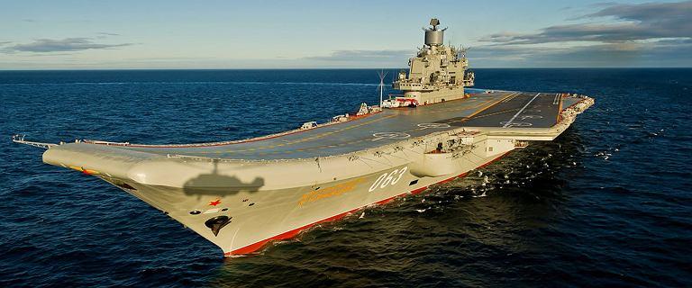 Rosja. Pożar lotniskowca Admirał Kuzniecow. Trwa akcja ratunkowa
