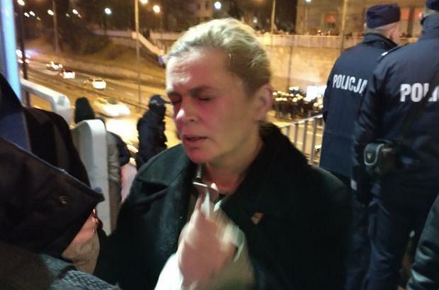 Posłance Barbarze Nowackiej policja prysnęła w twarz gazem pieprzowym