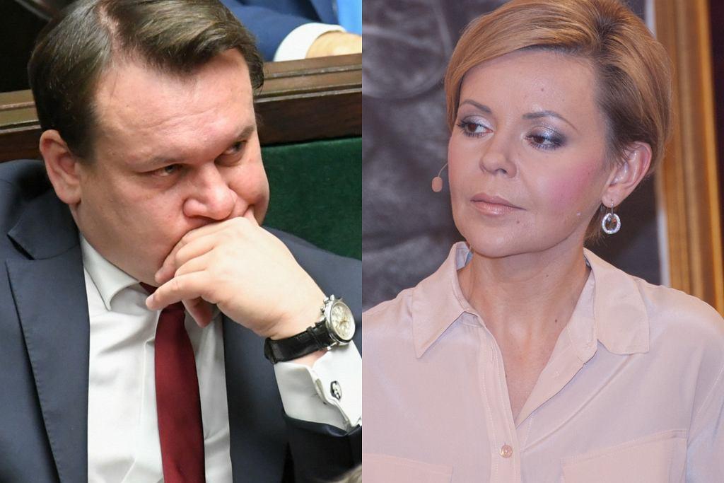 Dominik Tarczyński, Justyna Pochanke