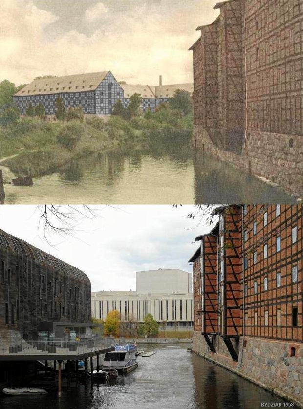 Zdjęcie numer 13 w galerii - Bydgoszcz wczoraj i dziś. Te same miejsca sfotografowane po latach