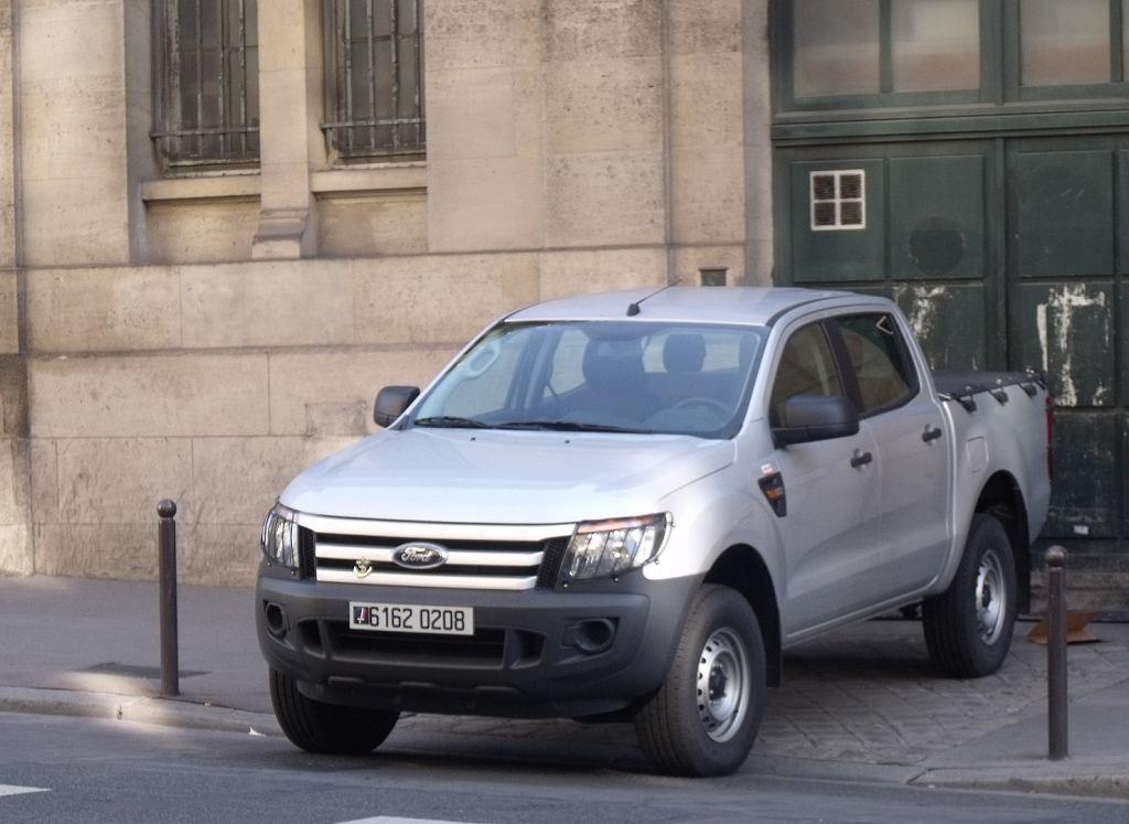 Ford Ranger w służbie francuskiego wojska