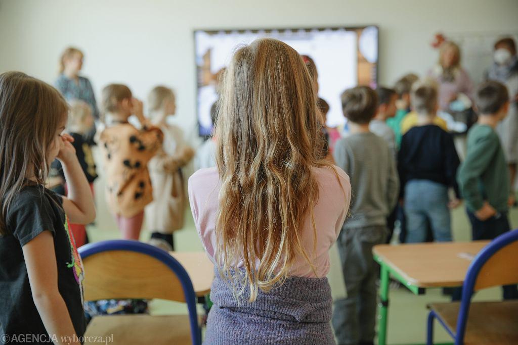 NPrzekazanie kluczy do zespolu szkolno - przedszkolnego na warszawskim Goclawiu