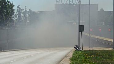 Pożar w tunelu Wisłostrady