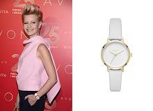 Kożuchowska stawia na zegarek DKNY, który kupicie u nas w świetnej cenie. 100% szyku!