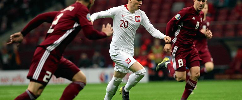 Polska - Łotwa. Piotr Zieliński zawiódł. Po tym meczu narodowej dyskusji nie będzie