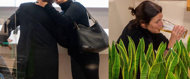 Ilona Felicjańska buszuje z mężem po galerii. Zawitali do drogiego sklepu, gdzie nie szczędzili sobie czułości