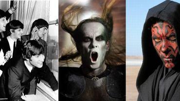 """The Beatles / Adam """"Nergal"""" Darski / Kadr z filmu """"Gwiezdne Wojny"""""""