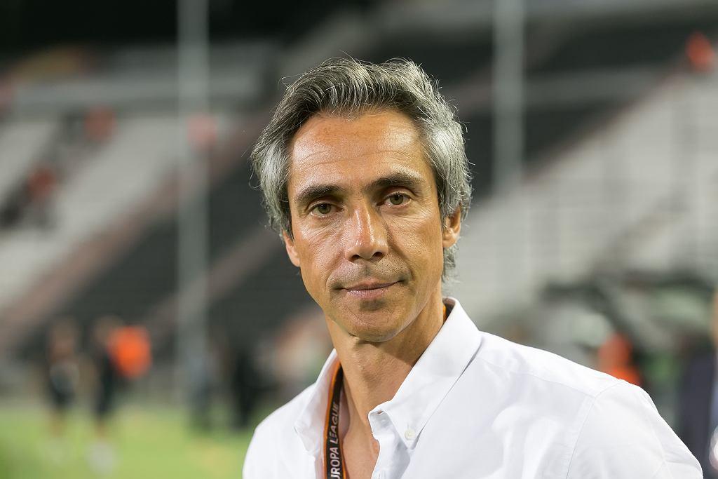 Paulo Sousa, nowy trener piłkarskiej reprezentacji Polski