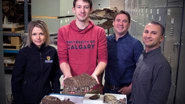 """Kanada. Odnaleziono szczątki nowego gatunku dinozaura. """"Thanatos"""" był kuzynem T-Rexa"""
