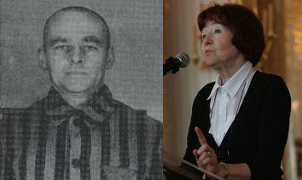 Rotmistrz Witold Pilecki i jego córka Zofia