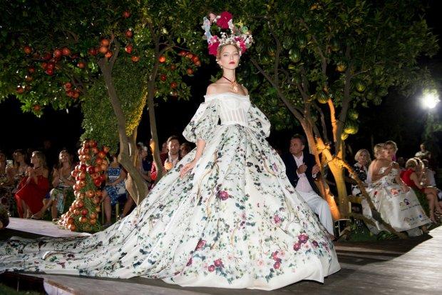 Pokaz kolekcji Dolce & Gabbana Alta Moda jesień 2015/16 w Portofino
