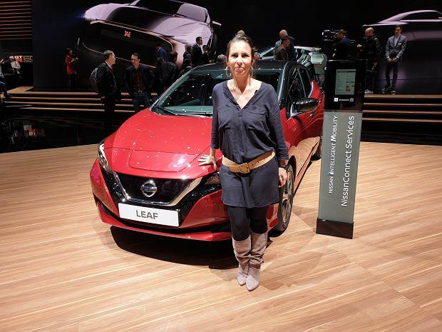 Ana Paola Reginatto - szefowa marketingu LEAF i samochodów elektrycznych Nissana na Europę