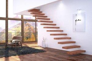 Nowoczesne schody: bez balustrad i poręczy