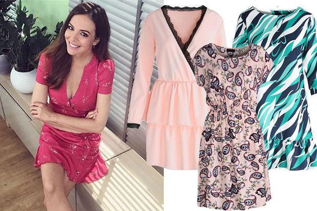 Kolaż, sukienki z wyprzedaży/Materiały partnera/www.instagram.com/aniawendzikowska