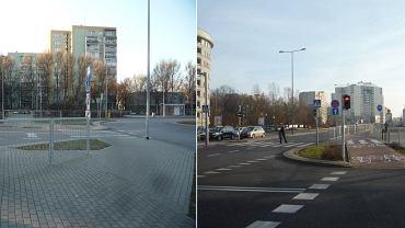 Grodzenia przy Al. Ken w Warszawie