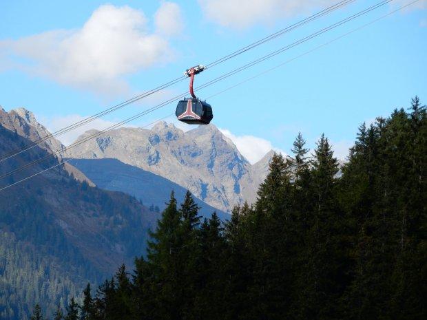 Pardatschgrat, nowa gondola/ Fot. TVB Paznaun-Ischgl